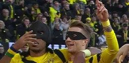 Batman i Robin! Niesamowita cieszynka zawodników BVB! WIDEO