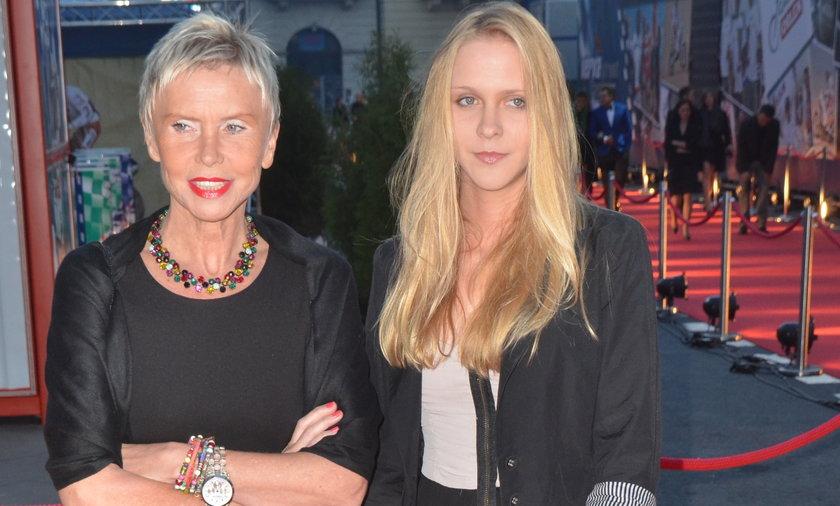 Ewa Błaszczyk z córką na gali Polacy z Werwą