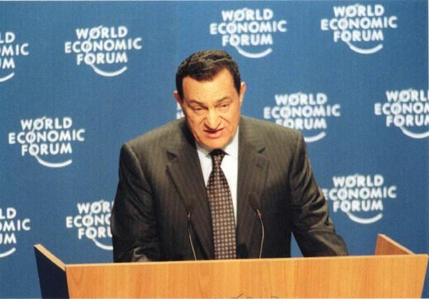 Hosni Mubarak fot. flickr/worldeconomicforum