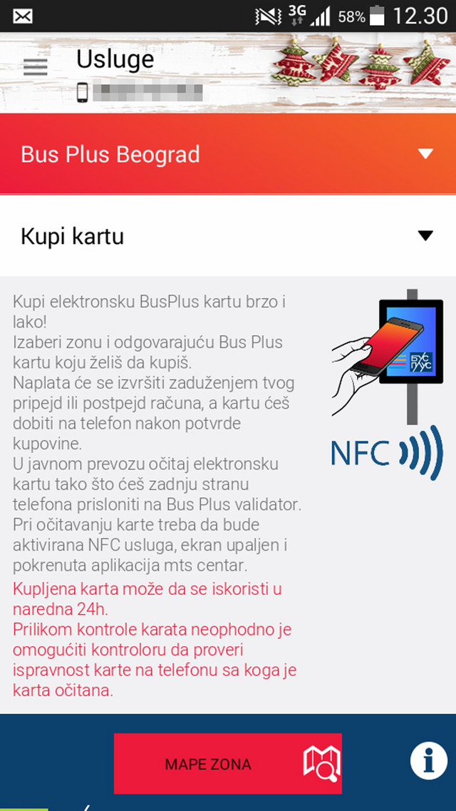 Bus plus aplikacija za placanje karte