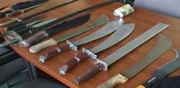 Najniebezpieczniejsze miasta w Polsce. Tu ludzie rżną się maczetami i nożami!
