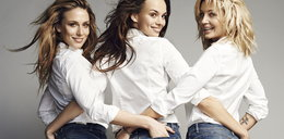 Klimas, Krupińska i Szulim w reklamie jeansów