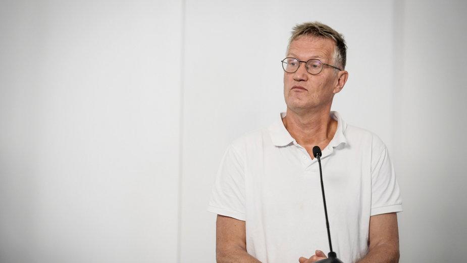 Anders Tegnell, główny epidemiolog Szwecji