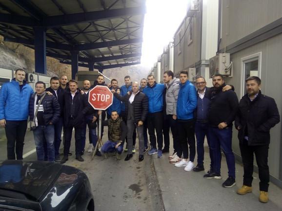 Košarkaši Partizana zaustavljeni na Jarinju