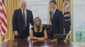 Donald Trump zatrudnił Ivankę w Białym Domu