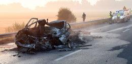 Wypadek polskiej furgonetki pod Calais. Prokuratura wszczyna śledztwo