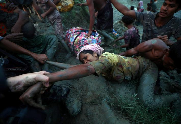 A Picture and its Story: Reaching out to rescue a Rohingya woman