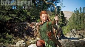"""Evangeline Lilly na zdjęciu z filmu """"Hobbit: Pustkowie Smauga""""!"""