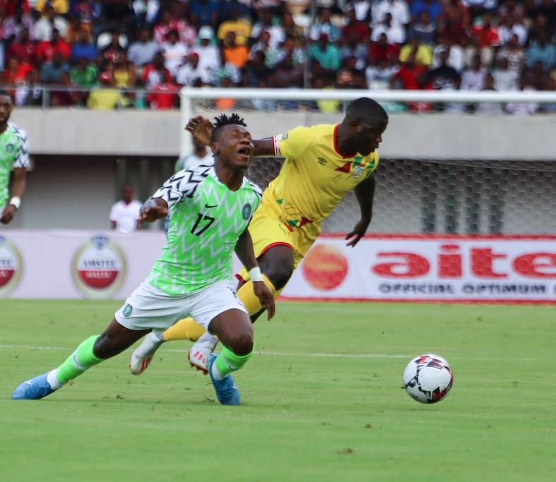 Samuel Kalu scored Nigeria's winner in the second half (Twitter/Super Eagles)