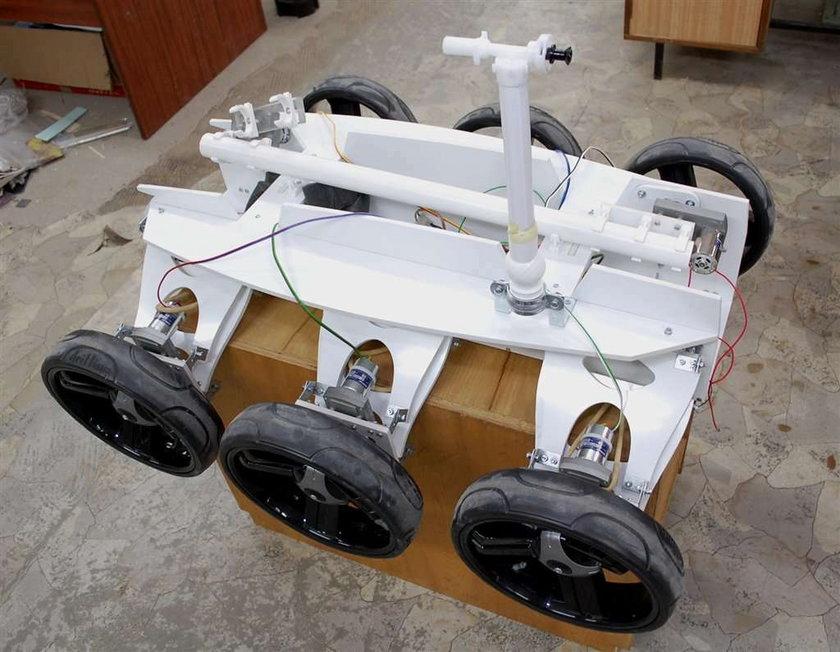 Marsjańska maszyna z Białegostoku. Zobacz!