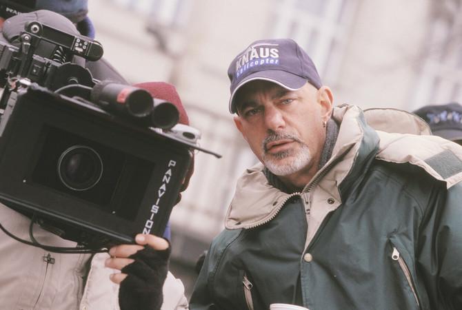 Koen tokom snimanja filma
