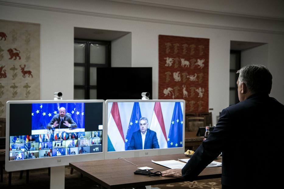 Kemény napjai vannak Orbán Viktor miniszterelnöknek: nem kér a jogállami felügyeletből, a tagállamok többsége viszont ragaszkodik hozzá / Fotó: MTI/Miniszterelnöki Sajtóiroda/Benko Vivien Cher