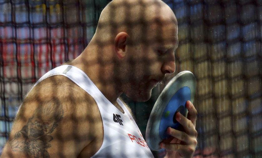 Polski dyskobol gotowy na walkę o złoto
