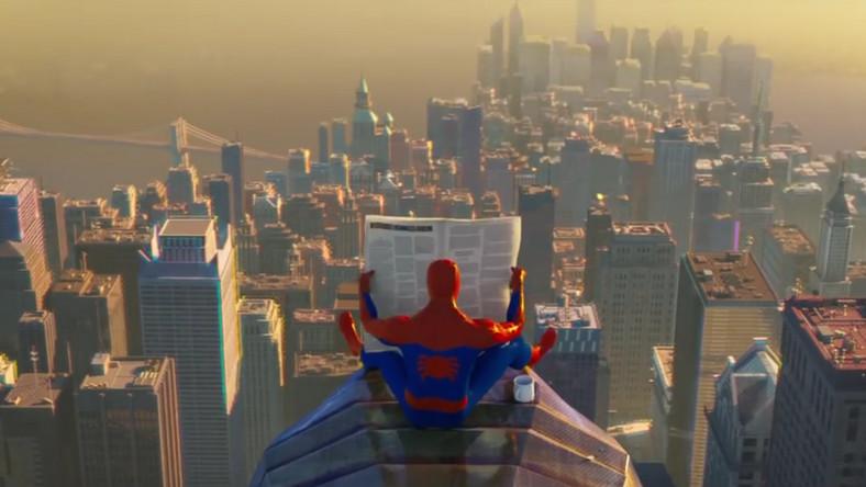 """Kadr z filmu """"Spider-Man Universum"""""""