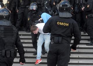 W niedzielę zatrzymano 774 osoby, z tego ponad 500 – w Mińsku