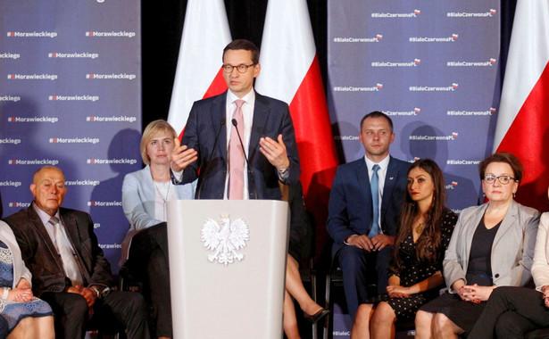 """""""Wolałbym, by premier Mateusz Morawiecki deklarował, że jego rząd będzie chciał być zwornikiem Unii Europejskiej oraz że będzie działał na rzecz jej wzmocnienia. To wystarczająco ambitne i trudne zadanie. """""""