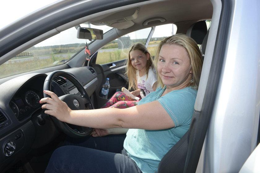 Weronika (39 l.), kierowca