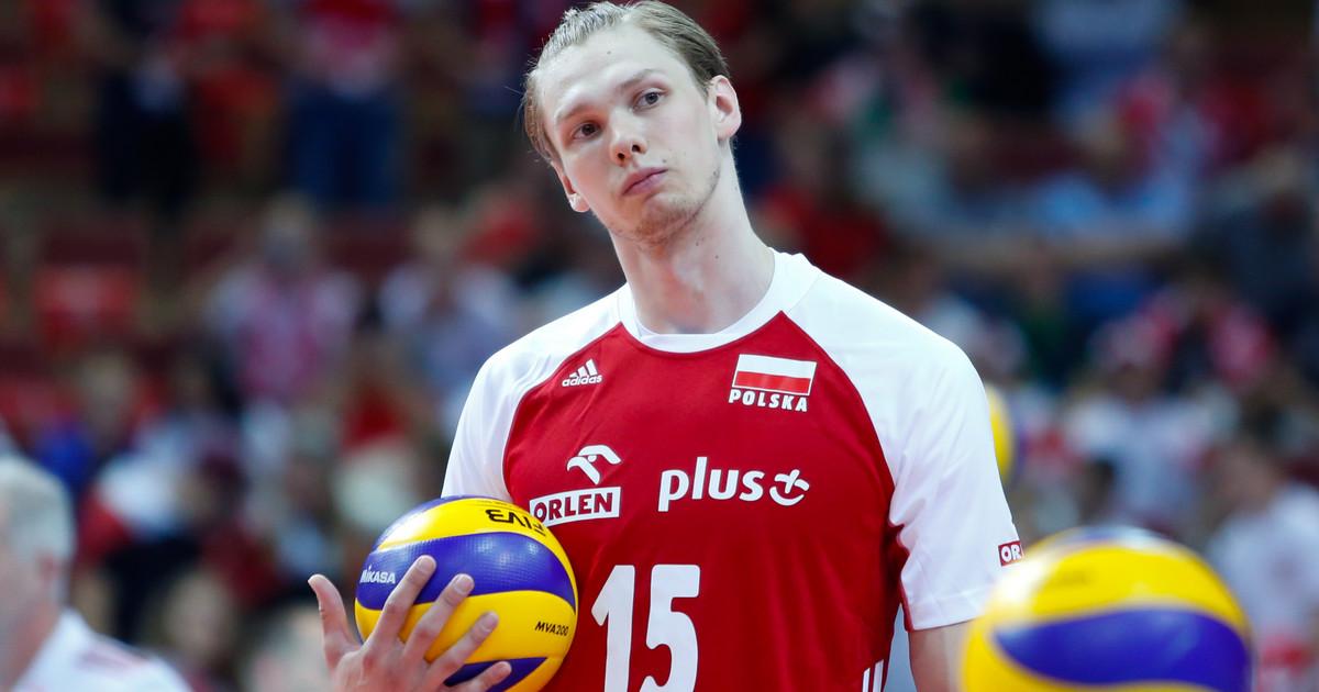 Jakub Kochanowski po meczu Polska - USA w Lidze Narodów - Reprezentacja