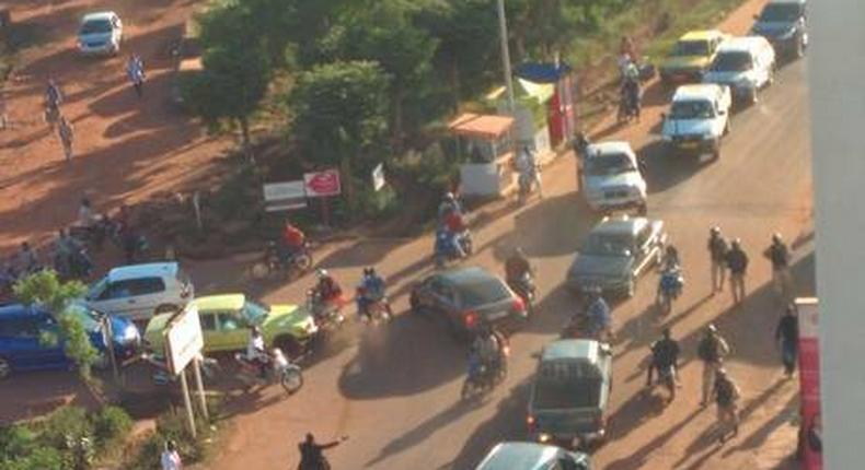 Islamist gunmen moving floor by floor through Mali hotel