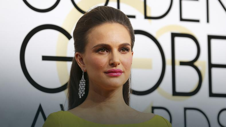 Natalie Portman arrives at the 74th Annual Golden Globe Awards in Beverly Hills