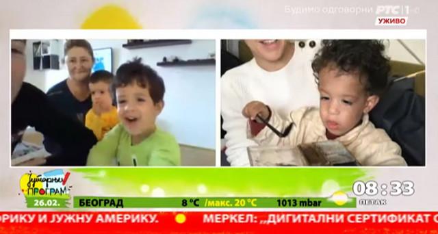 """Dečaci koji su glumili malog Budu u filmu """"Dara iz Jasenovca"""""""