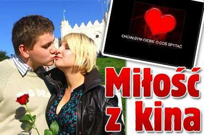 Wyznał jej miłość w kinie w Lublinie