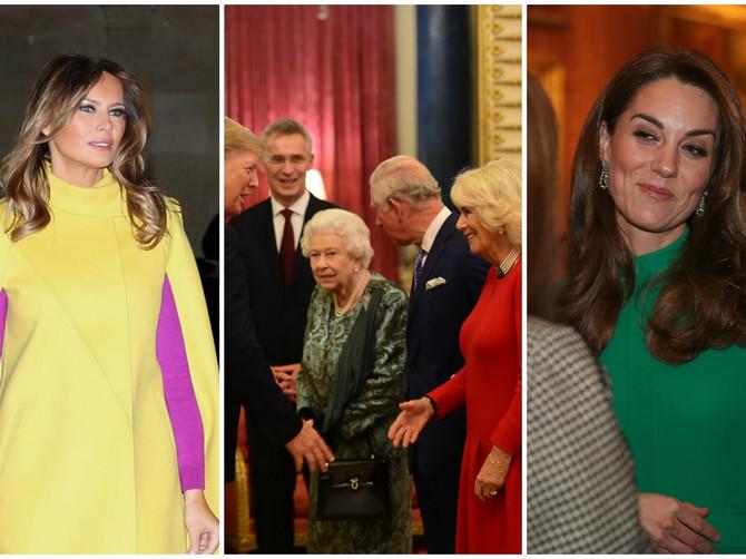 O Melanijinom ŽUTOM KAPUTU na glamuroznom prijemu kod kraljice će se još dugo pričati: A BOJA cipela je POBEDA VEČERI