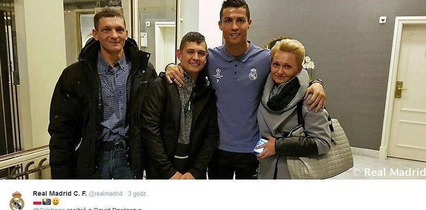 Dawid Pawlaczyk znowu spotkał Cristiano Ronaldo. Jesteśmy dumni