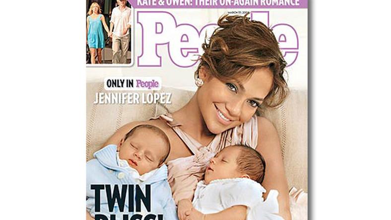 Jennifer Lopez pokazała swoje bliźniaki