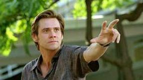 Złośliwy szop Jim Carrey