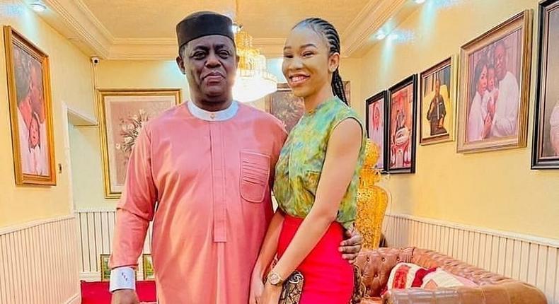 Femi Fani-Kayode and his new bae Chinwe Nerita [NaijaPremiumGist]