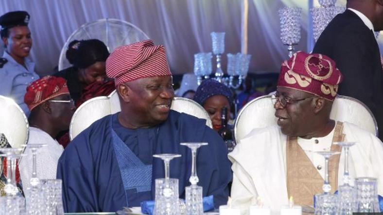 Tinubu and Ambode have fallen out and The Jagaban isn't backing the Lagos Governor for a second term in office