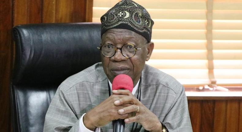 The Minister of Information and Culture, Alhaji Lai Mohammed (Guardian)