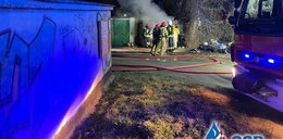 Śmierć w płomieniach w garażu w Opolu