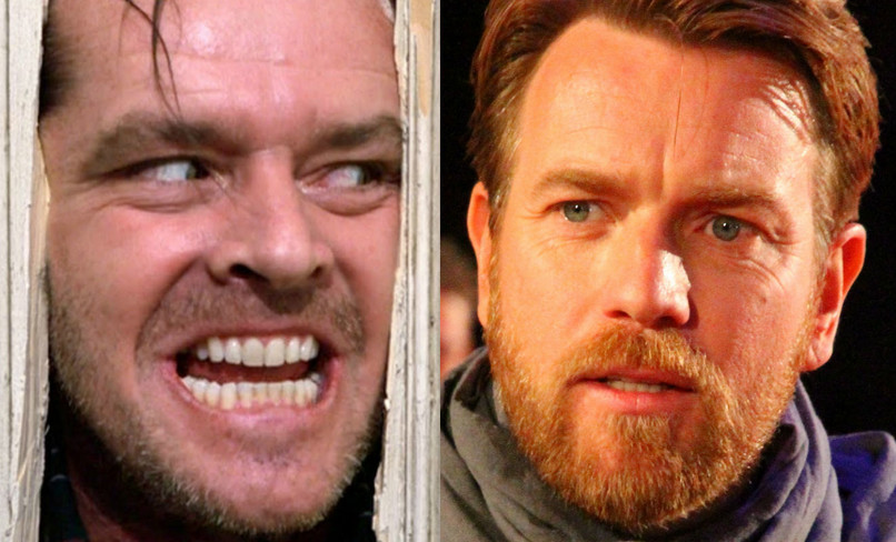 "Jack Nicholson în ""The Shining"" / Ewan McGregor"