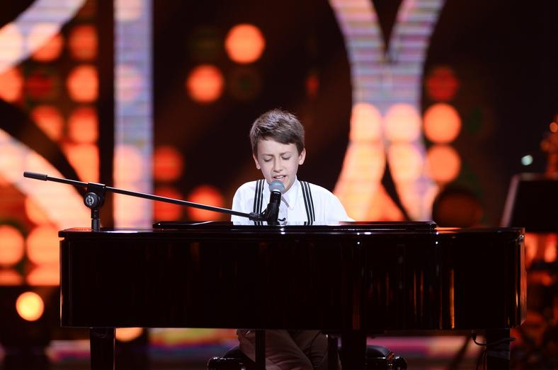 "Paweł Madzia w ""The Voice Kids 3"""