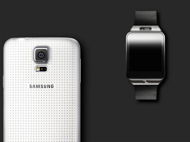 Samsung Galaxy S5 i zegarek Galaxy Gear
