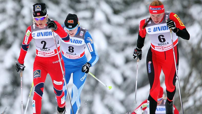 Justyna Kowalczyk (z prawej)