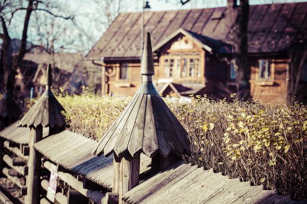 Tradycyjny dom w Zakopanem