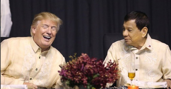 Donald Tramp i Rodrigo Duterte