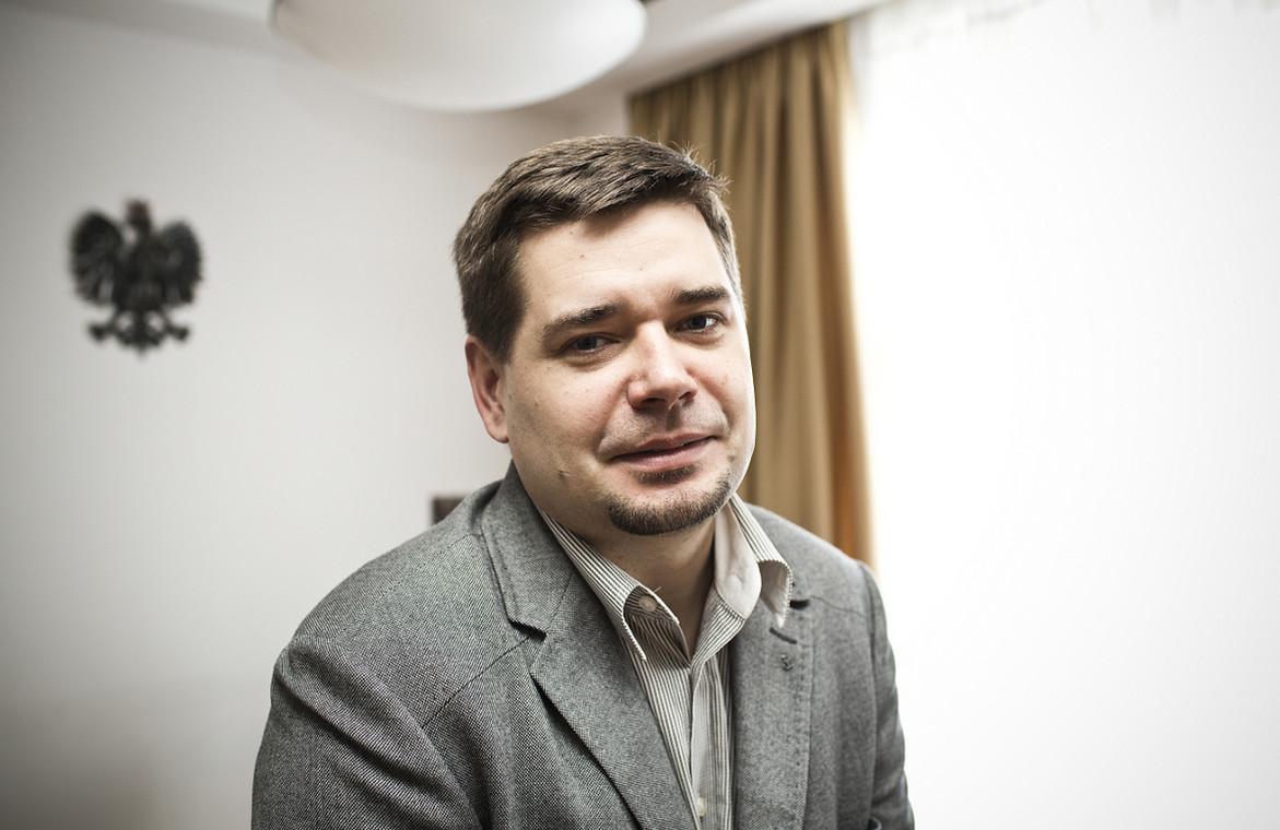 prof. UW dr hab. Michał Królikowski podsekretarz stanu w Ministerstwie Sprawiedliwości / fot. Wojtek Górski