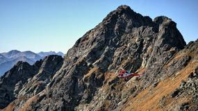 Poślizgnięcia na płatach śniegu przyczyną ostatnich wypadków w Tatrach