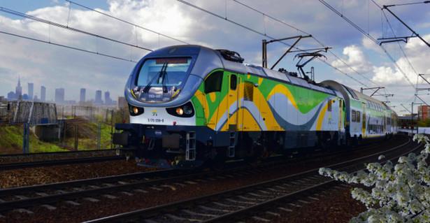 Lokomotywa Gama w wersji elektrycznej eksploatowana przez Koleje Mazowieckie