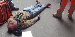 Mężczyzna umierał na ulicy. Wtedy pojawił się On