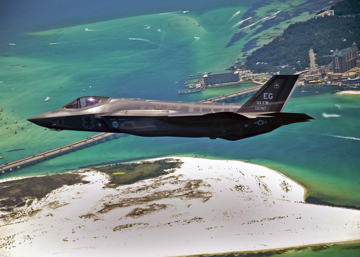 F 35 a US AIR FORCE