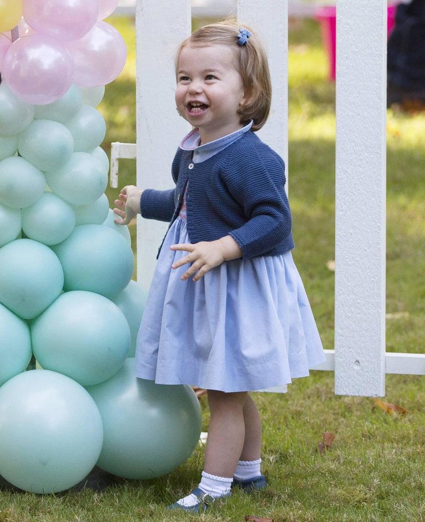 Księżniczka Charlotte wypowiedziała publicznie swoje pierwsze słowo