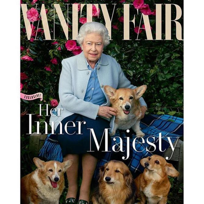 Kraljica Elizabeta II na naslovnoj strani
