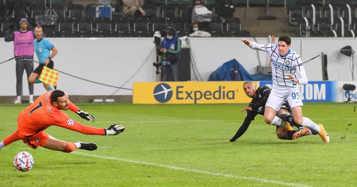 Liga Mistrzów: Borussia Moenchengladbach - Inter Mediolan. Wynik i relacja z meczu - Sport