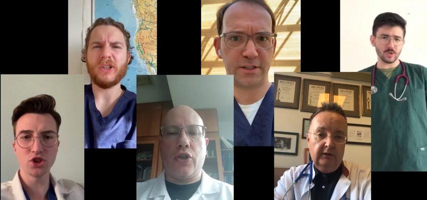 """Lekarze uderzają w negujących pandemię. Nagrali """"piosenkę dla szurów"""", która staje się hitem sieci!"""