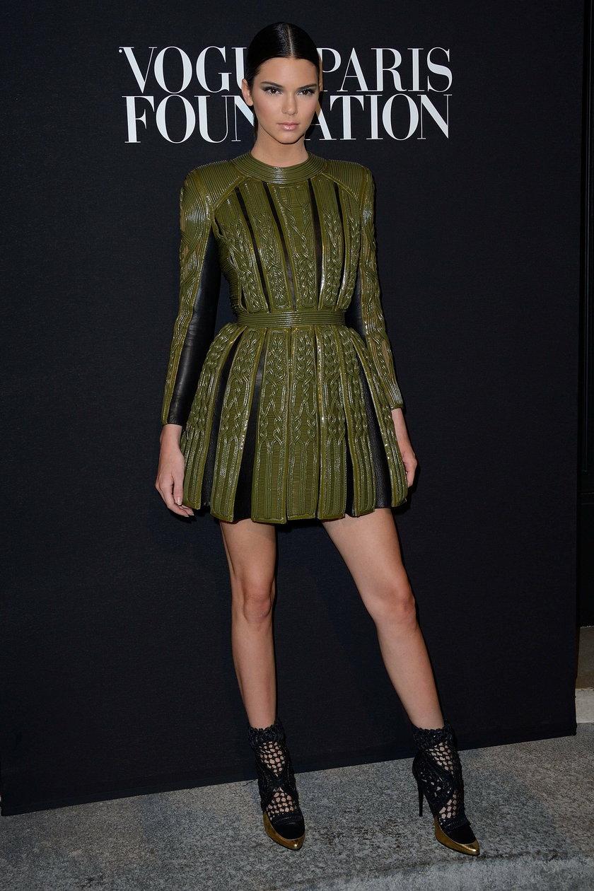 Kendall Jenner na gali Vogue Foundation